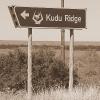 Kudu Ridge sign
